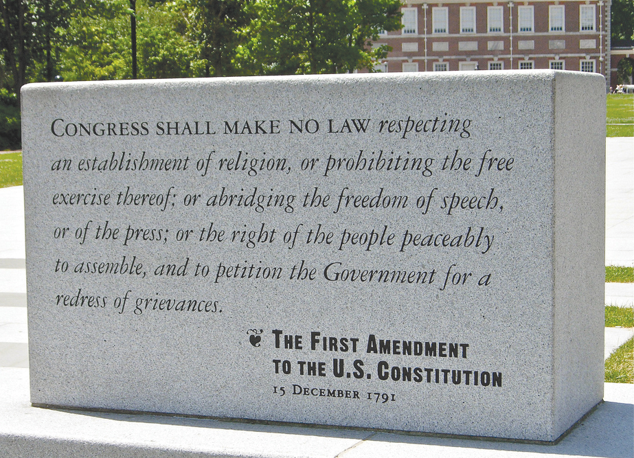 Betz Announces First Amendment Day in Recognition of Free Speech