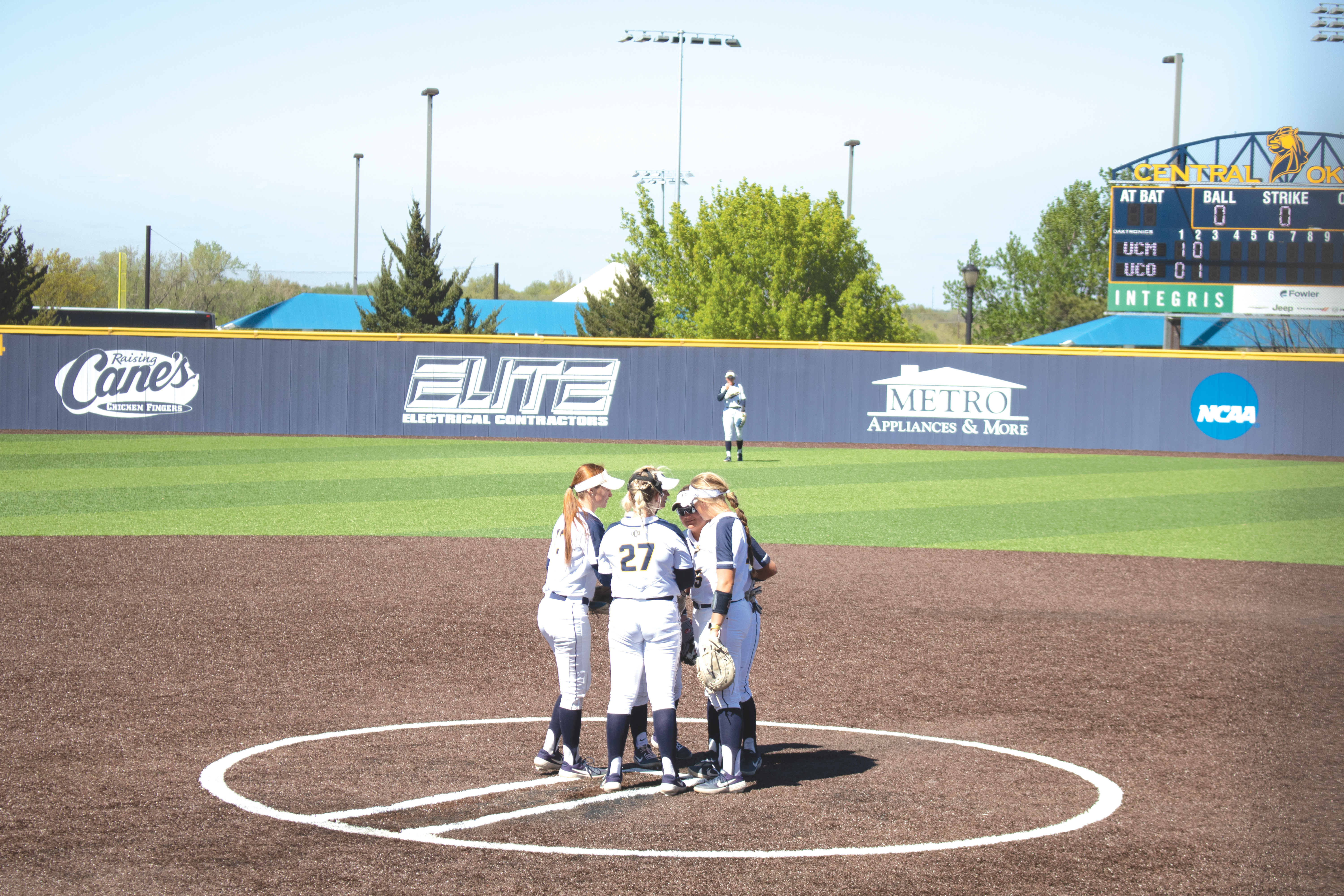 UCO Softball Runs in Regular Conference Championship
