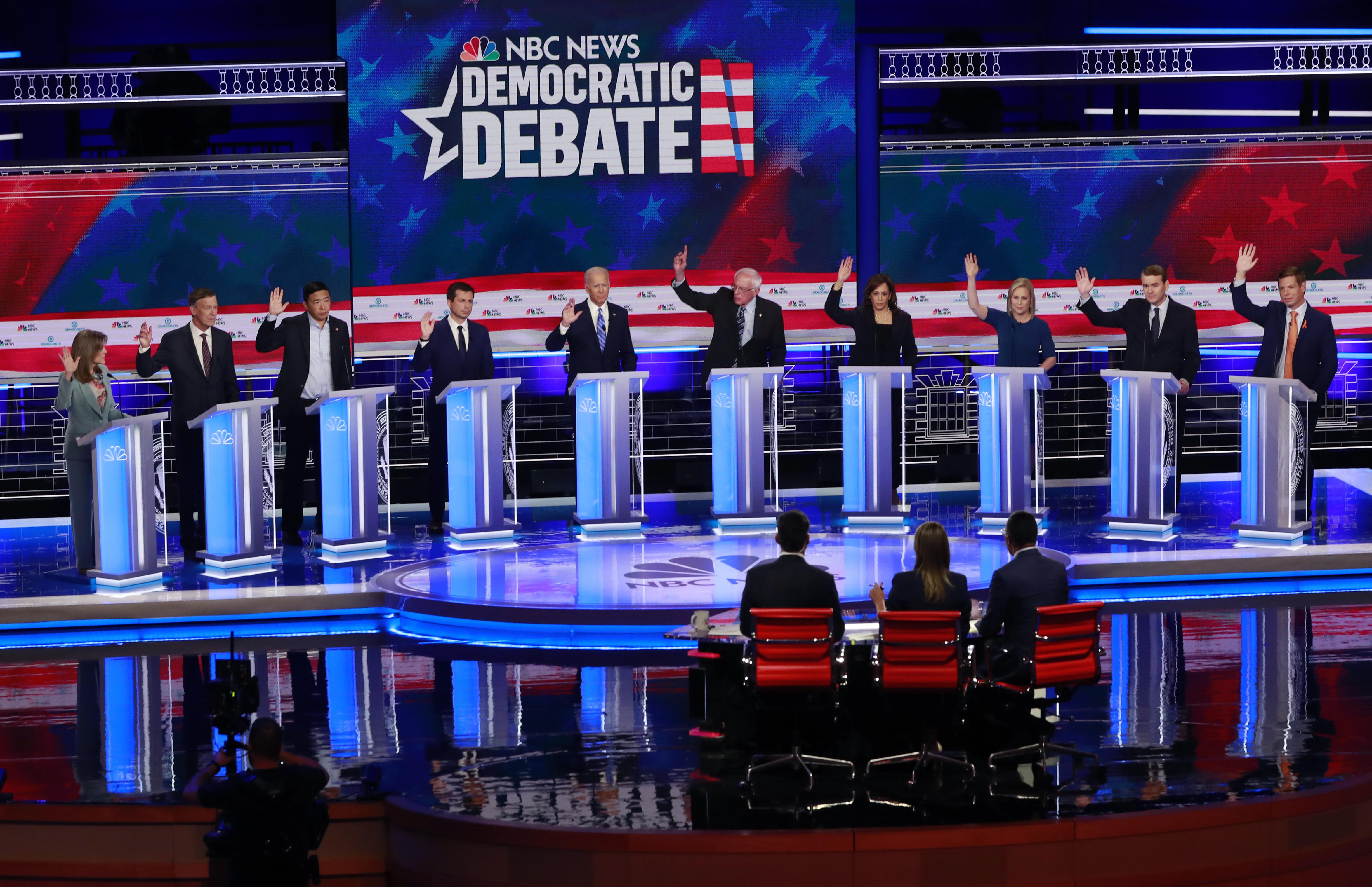 Democrats Debate Doctrine Dreadfully