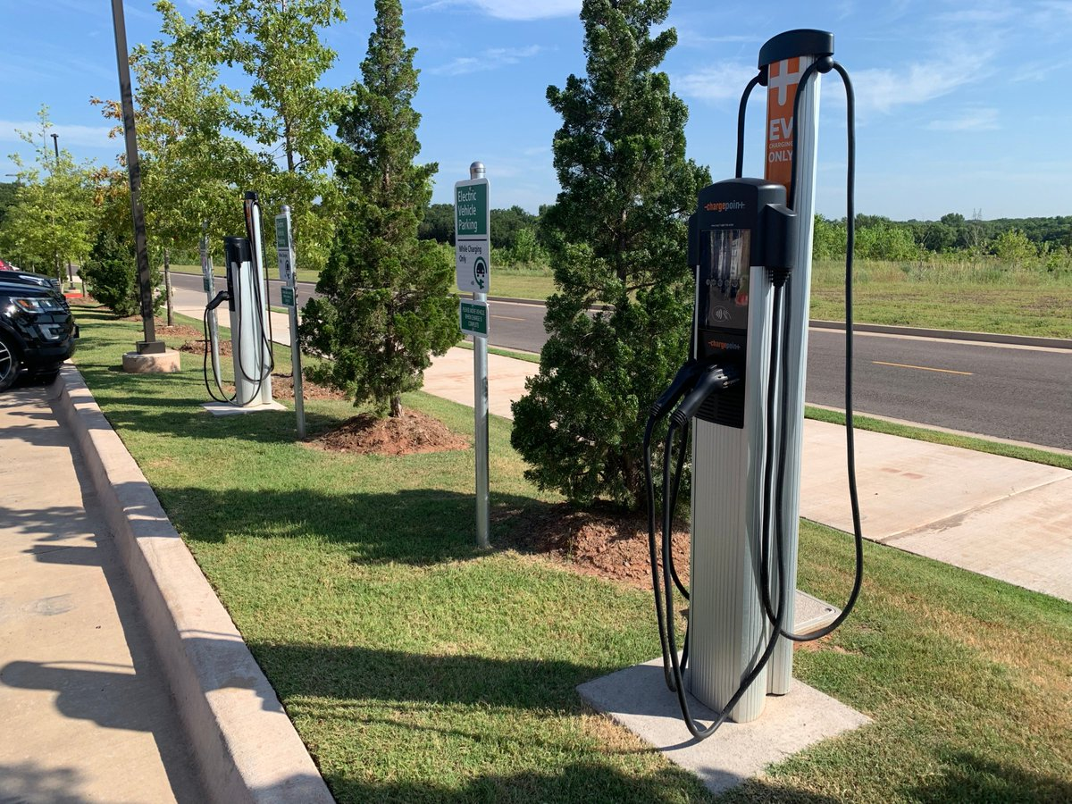 Charging Stations For EVs Coming To UCO and Edmond