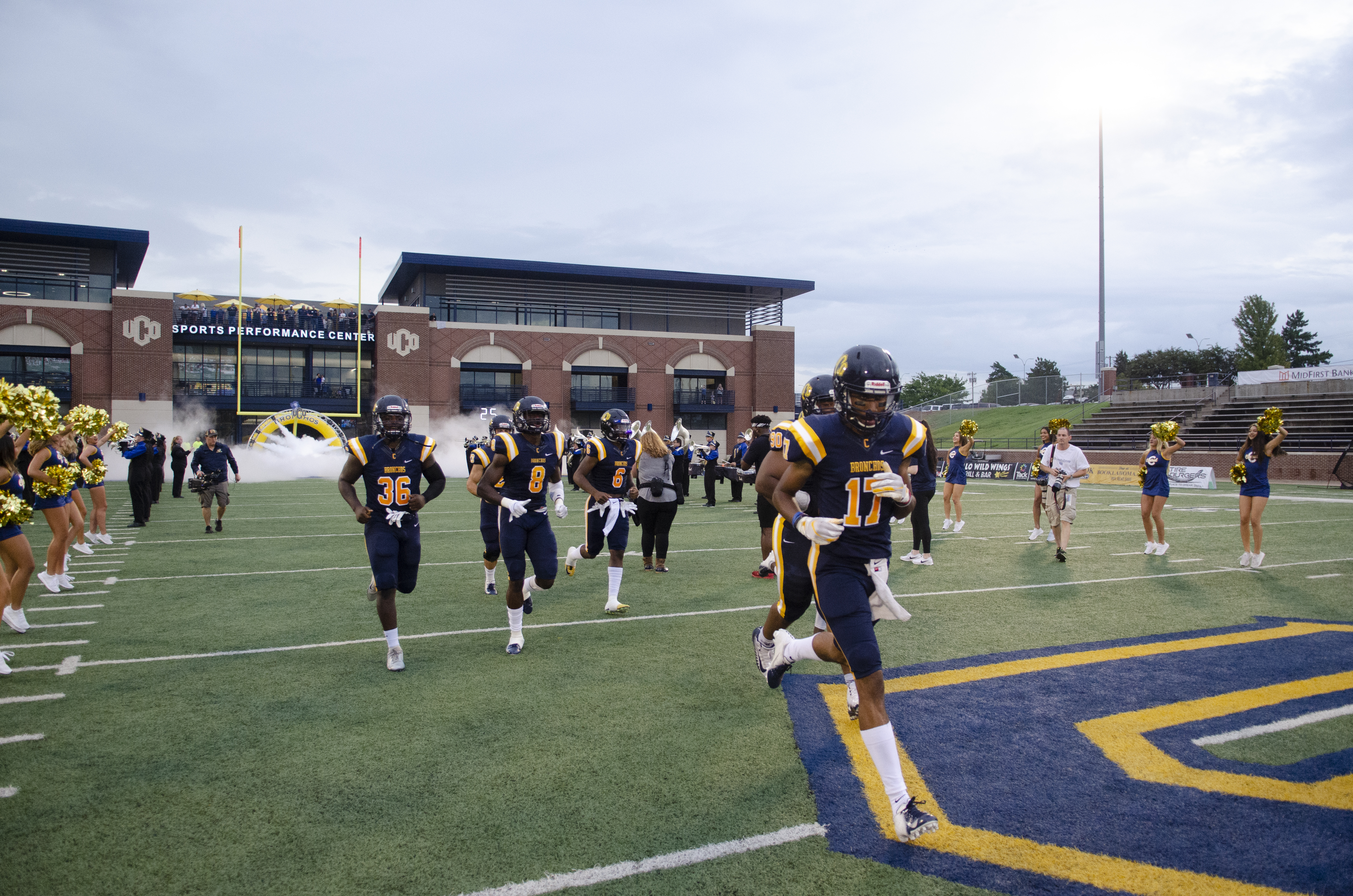 UCO postpones practices,  conference play