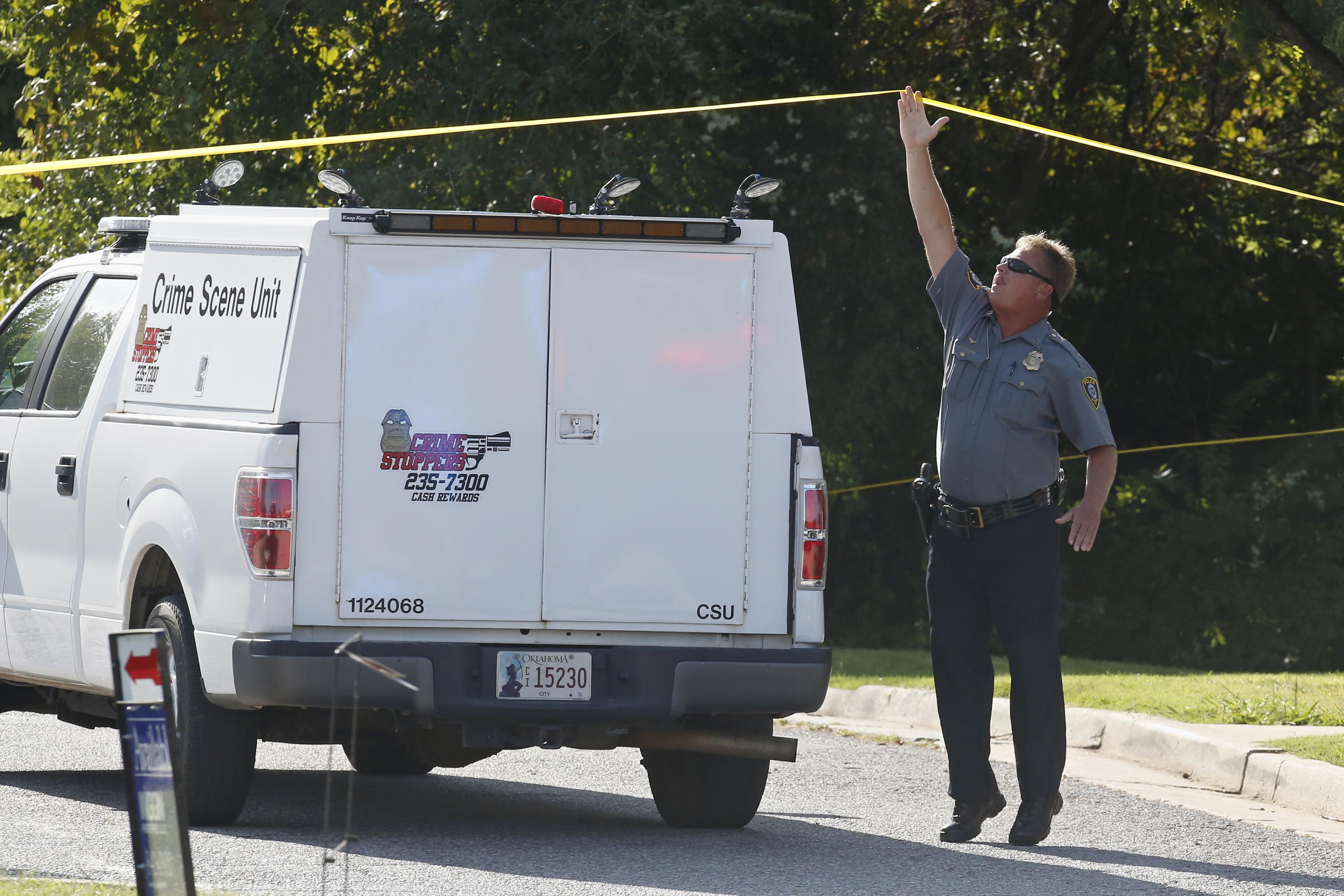 Oklahoma City Police Kill Man Who Fled Fatal Shooting Scene