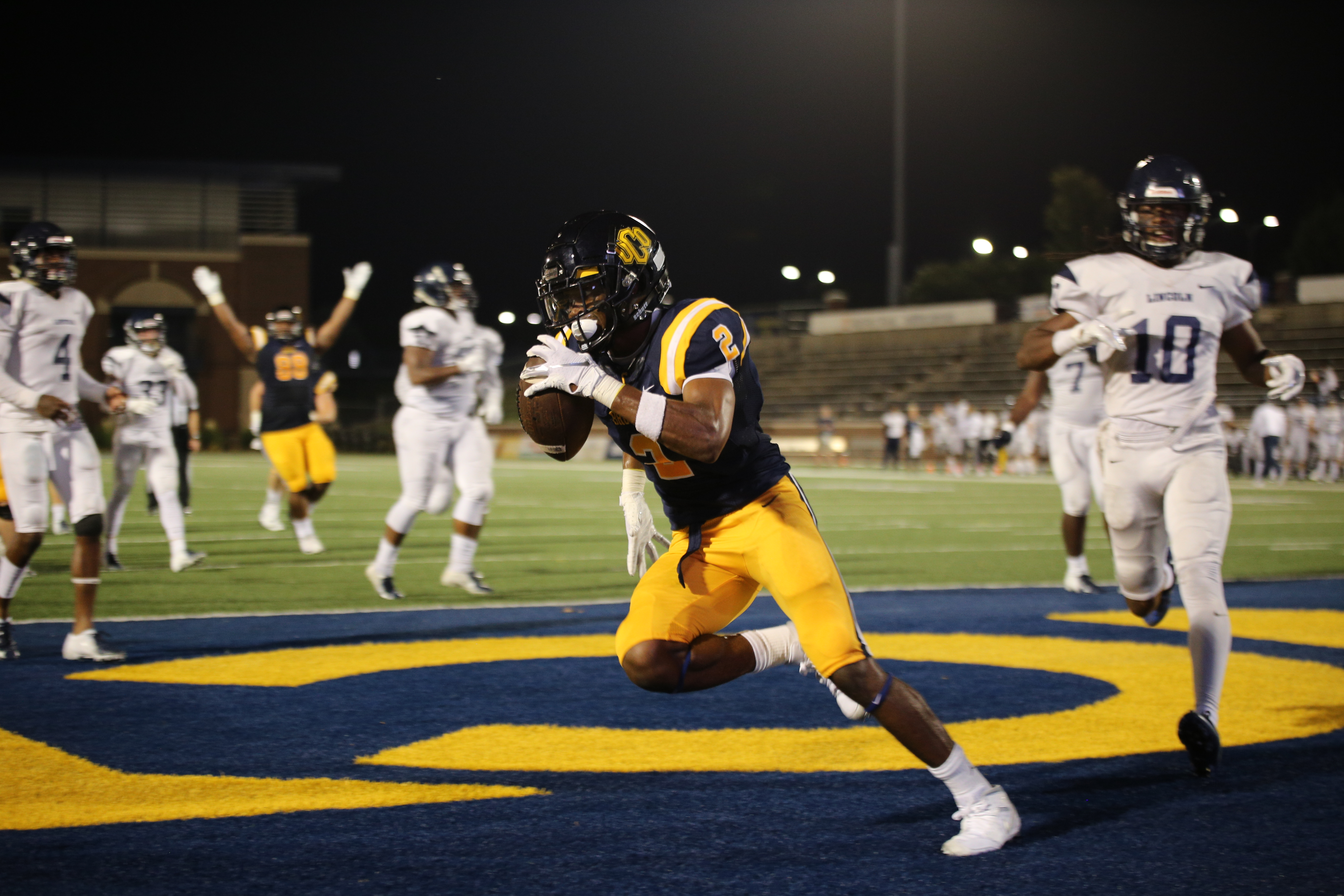 UCO Scores Nine Touchdowns in Historic Win