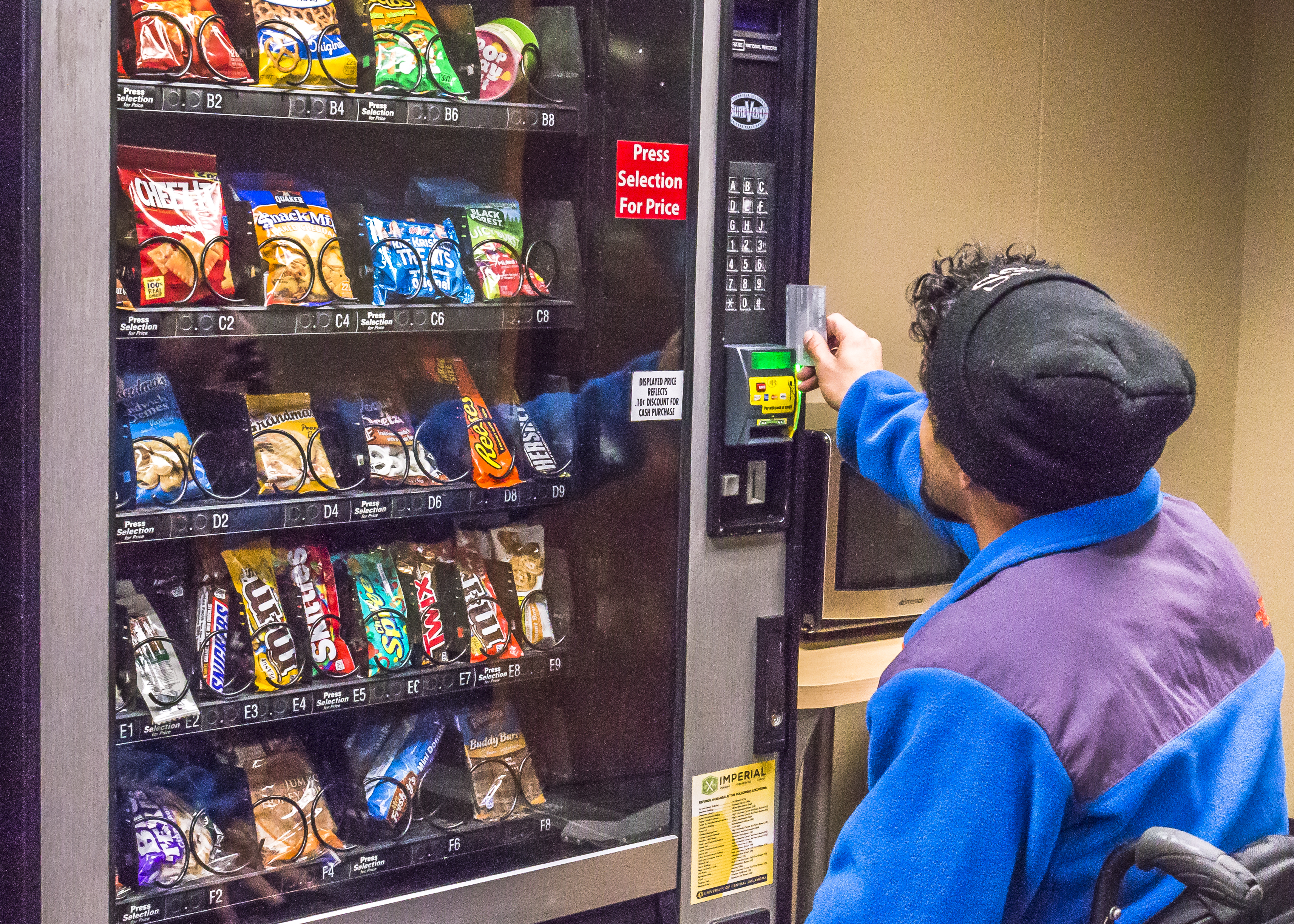 Expired Food Found In Campus Vending Machines