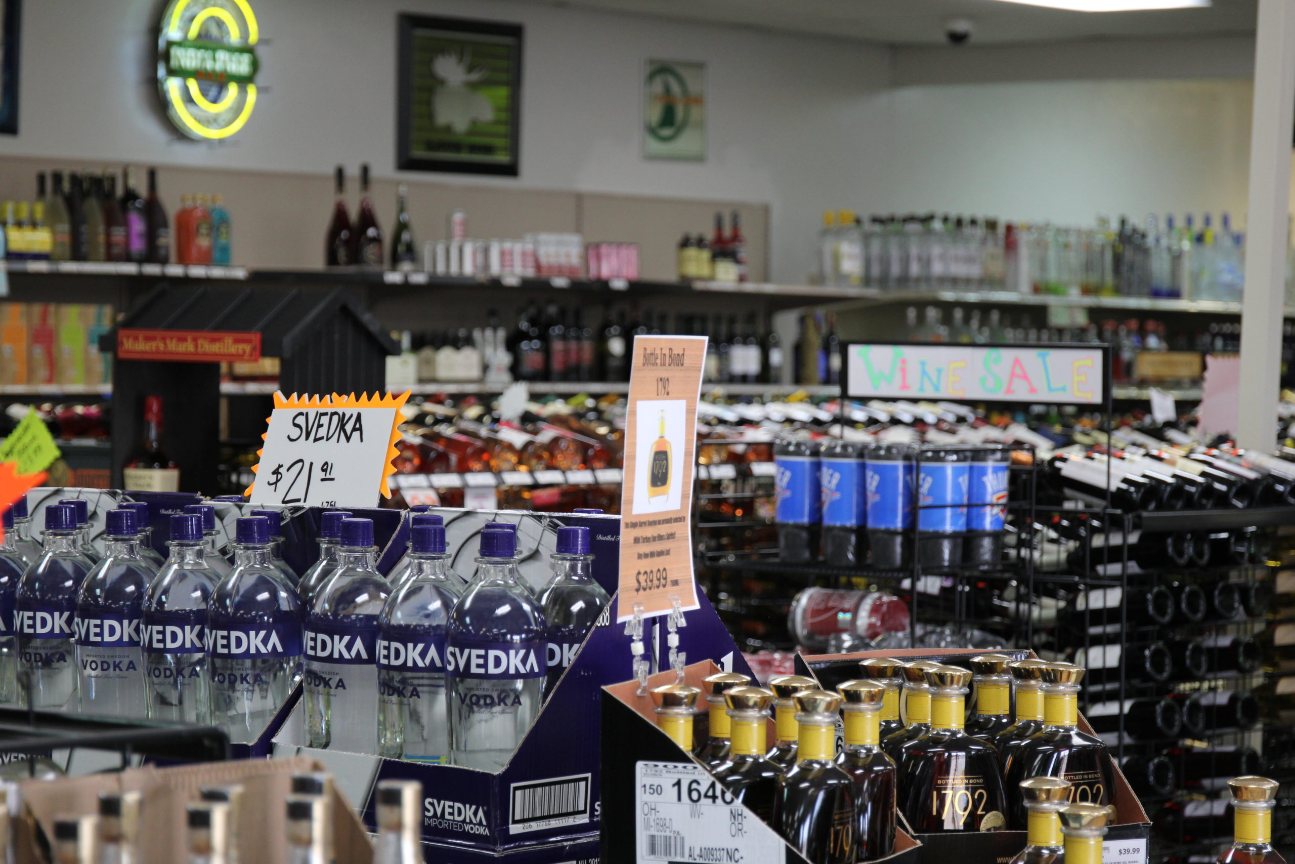 Sunday Liquor Store Sales up for Vote in Seven Counties