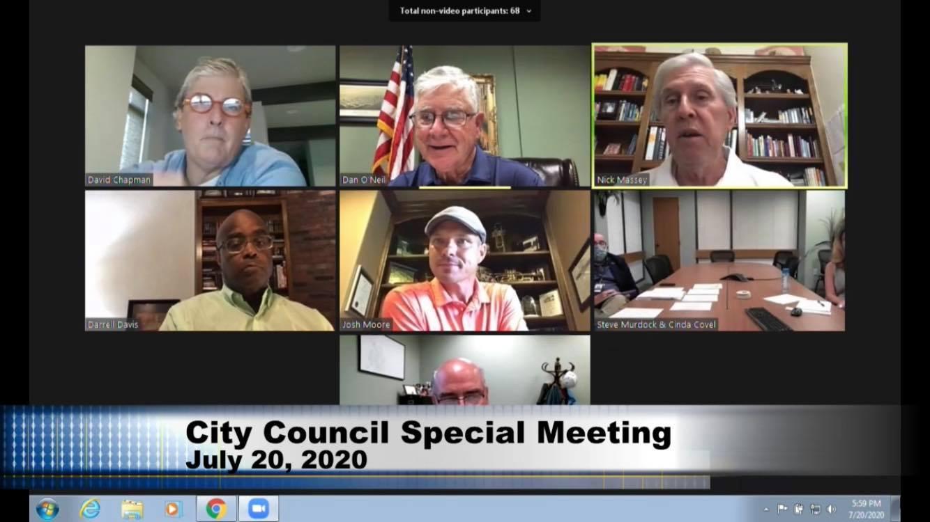 Edmond City Council fails to bring mask ordinance to vote