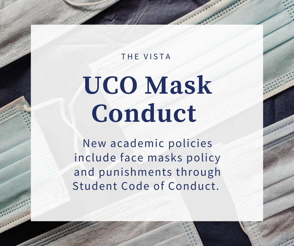 UCO policy update; wear mask or face punishment