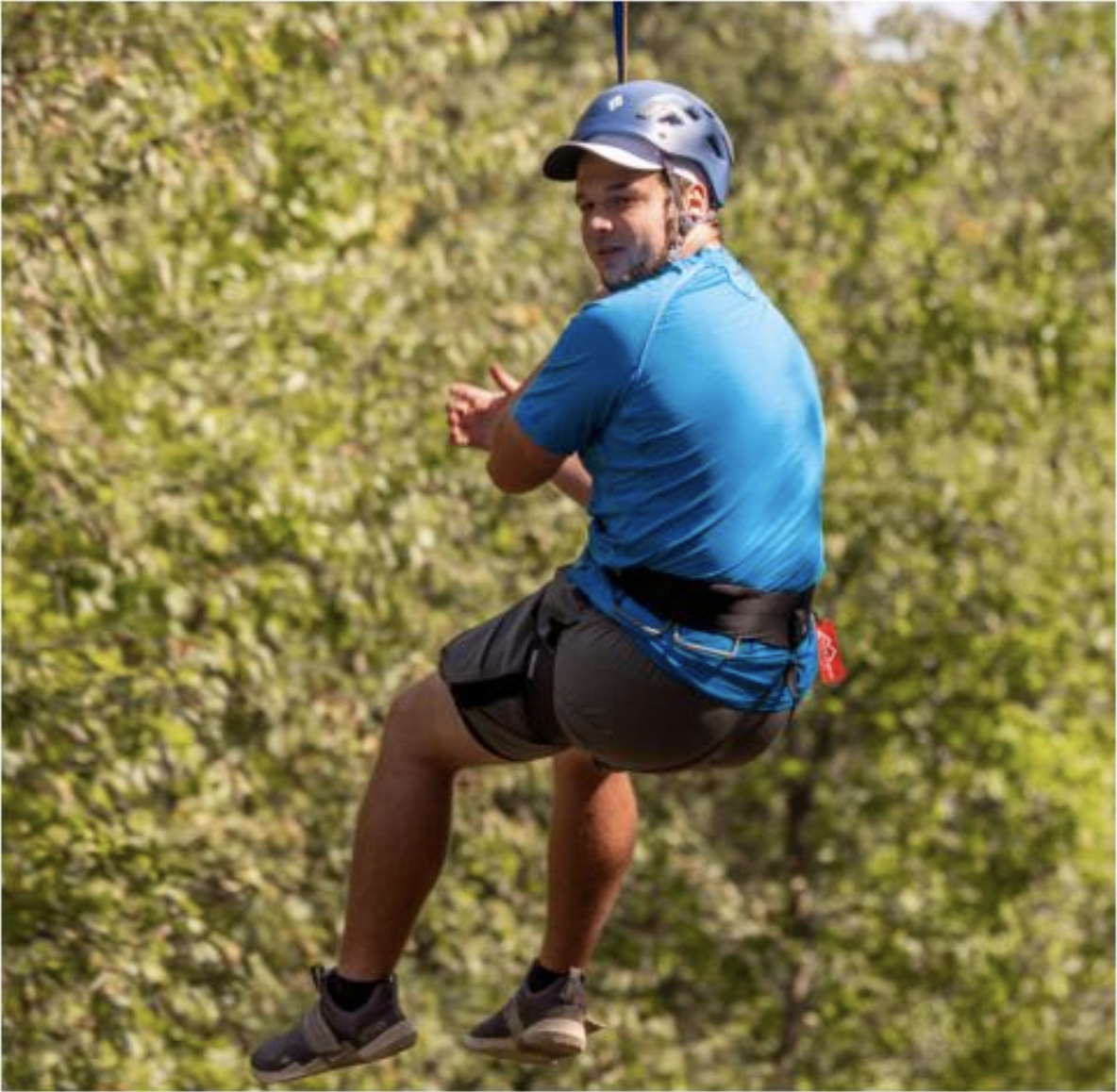 UCO OAR offers free zip line for students and faculty