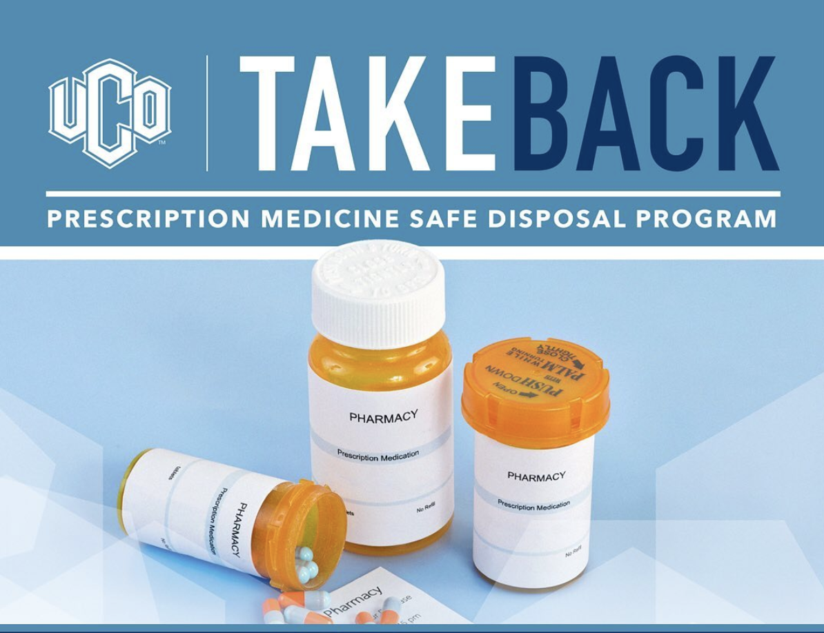 UCO to host drug take back program