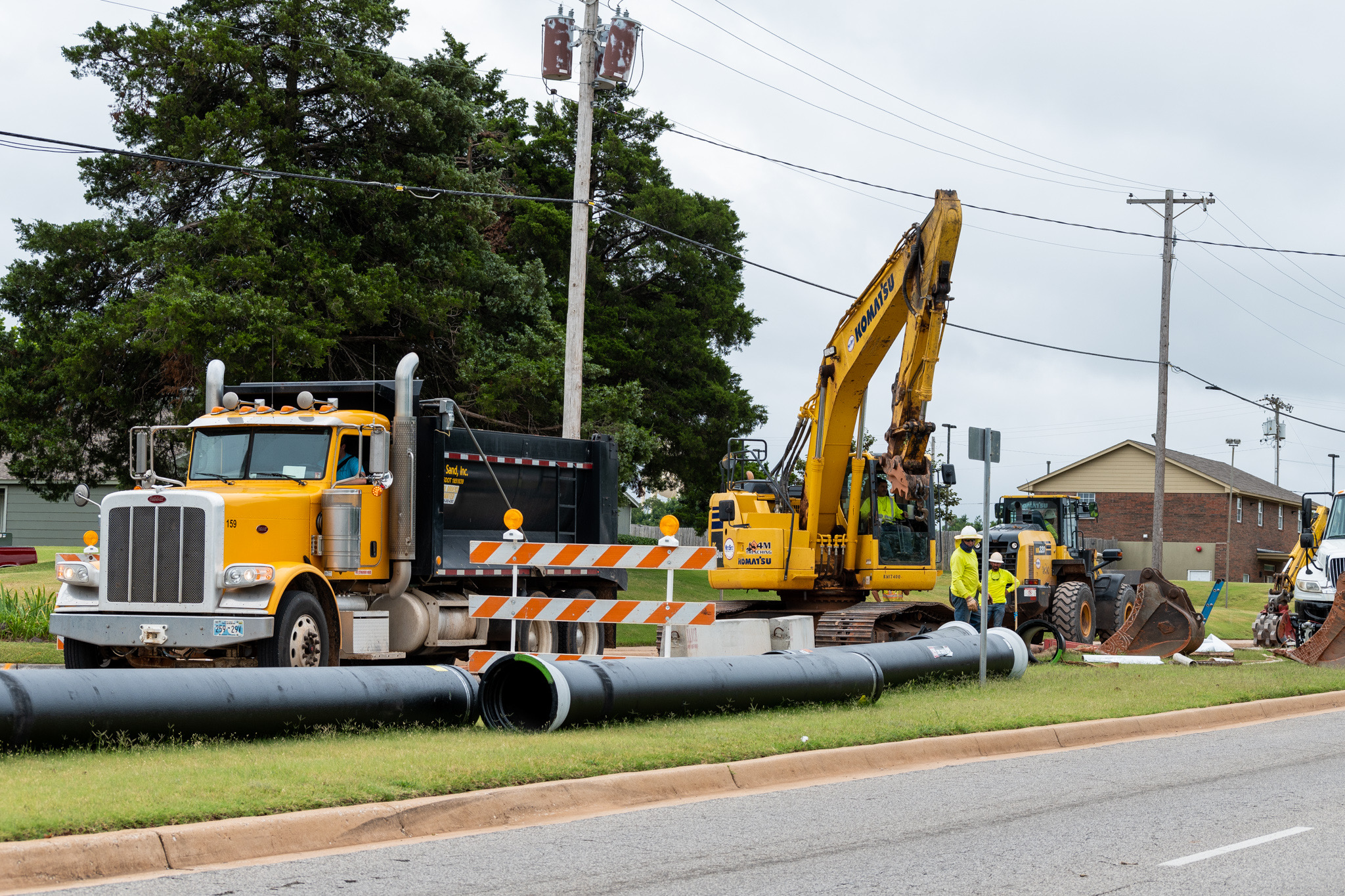 Construction project moves through campus