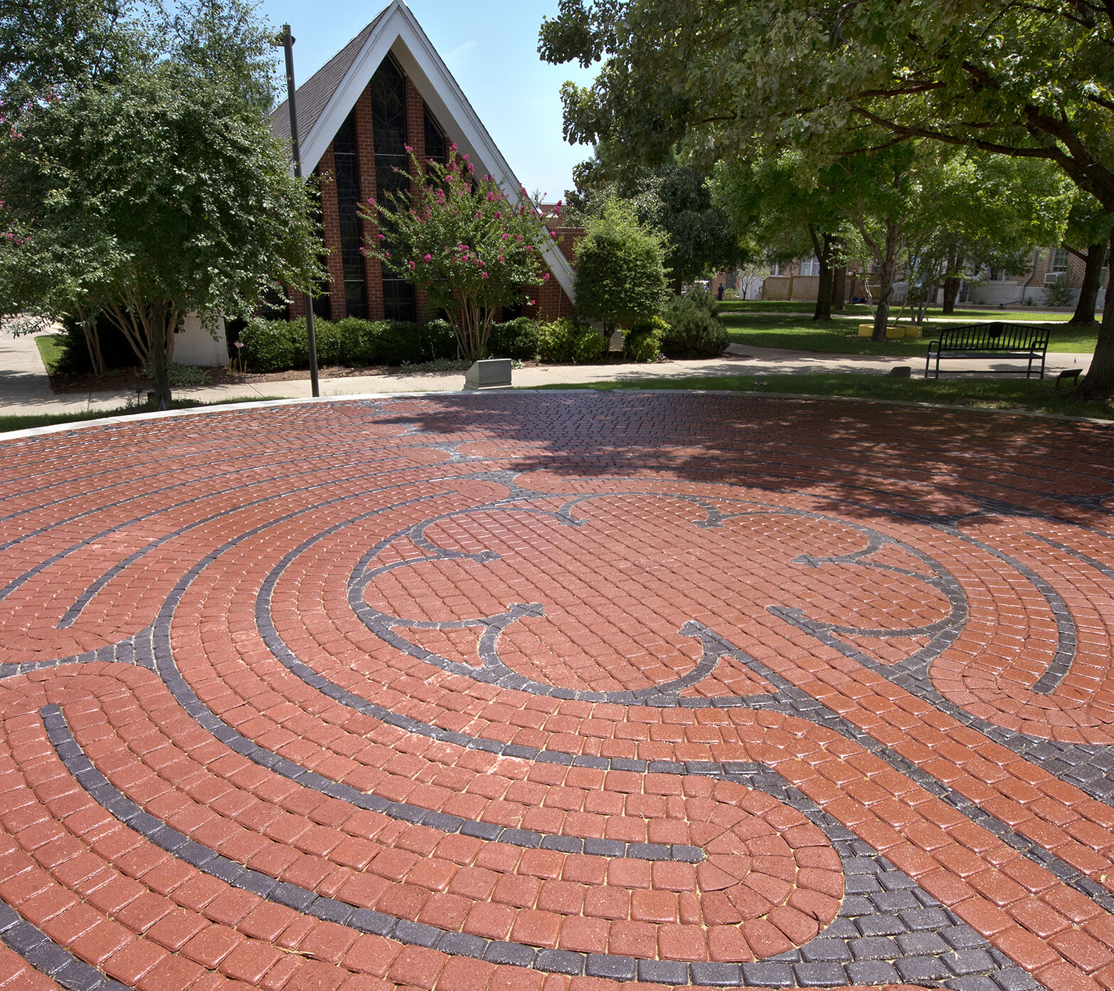 Labyrinth walk makes monthly appearance