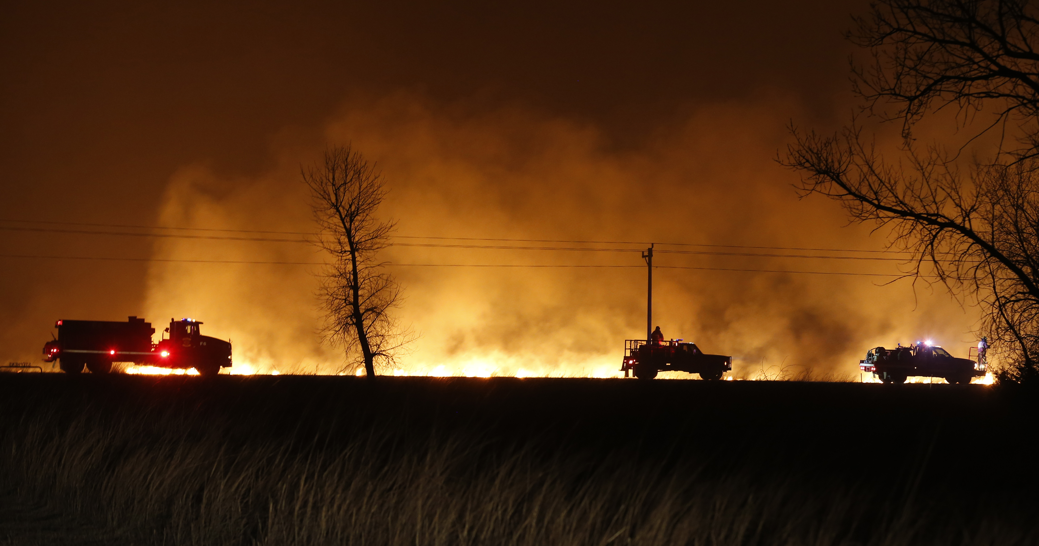Wildfires on the Rise in Oklahoma