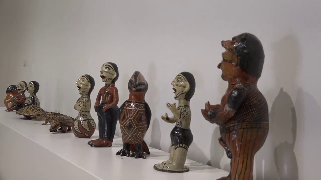 Exhibit Shows North and South American Art