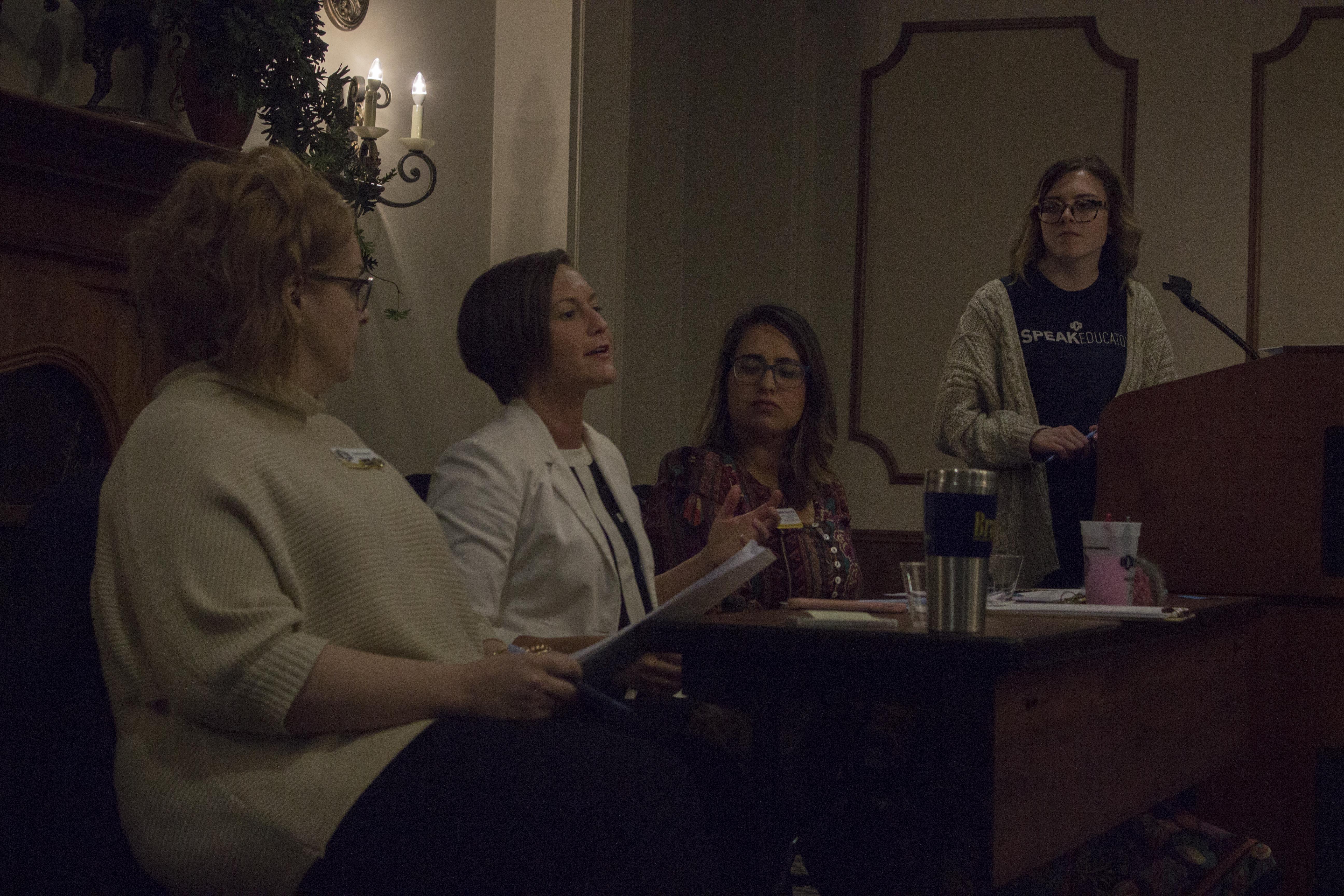 Project SPEAK Hosts Title IX Panel for Stalker Awareness Month