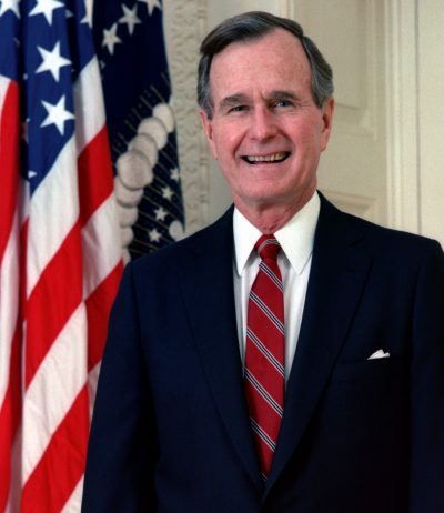 George HW Bush hospitalized with blood infection