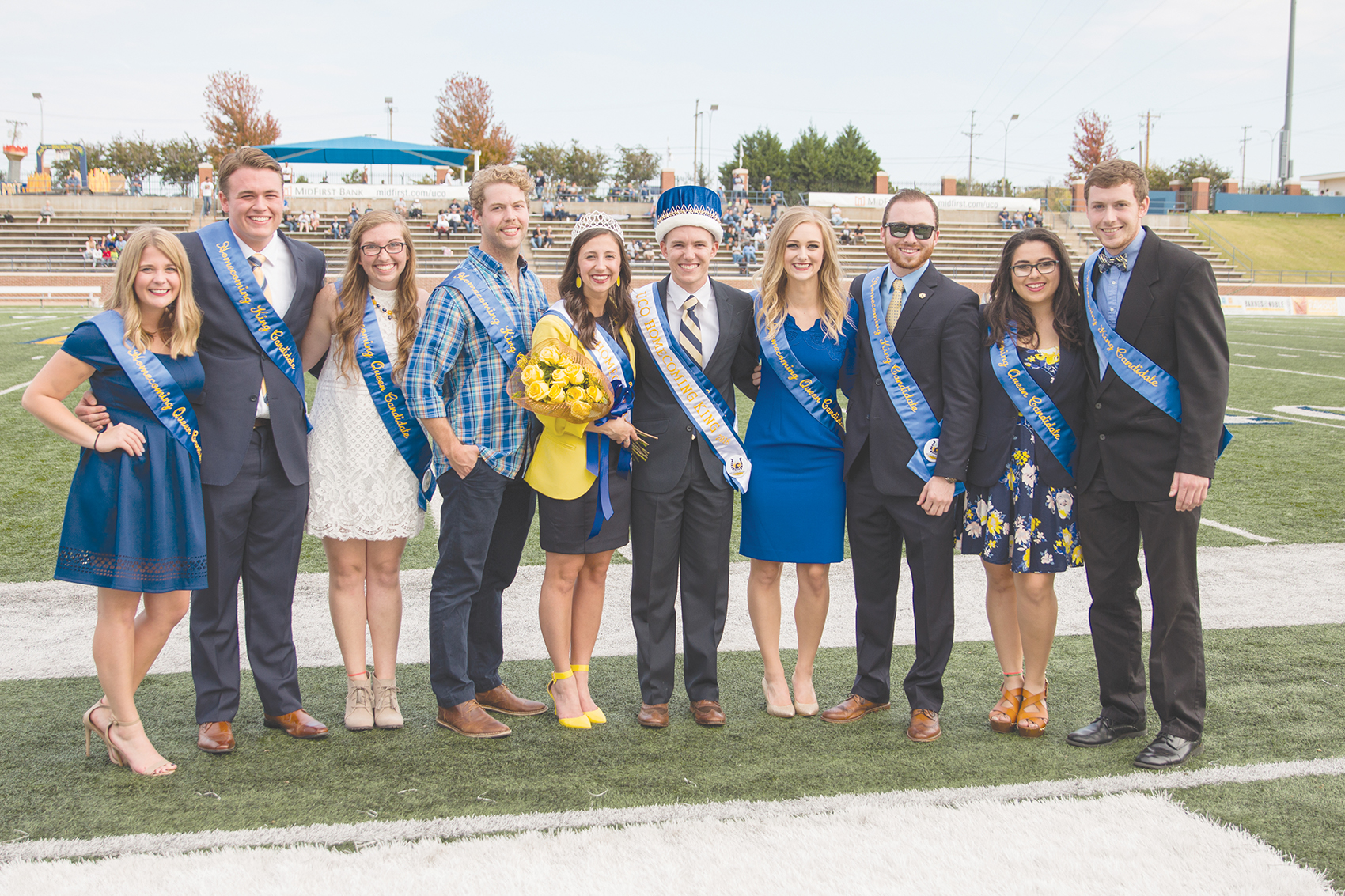 UCO Homecoming Court Announced
