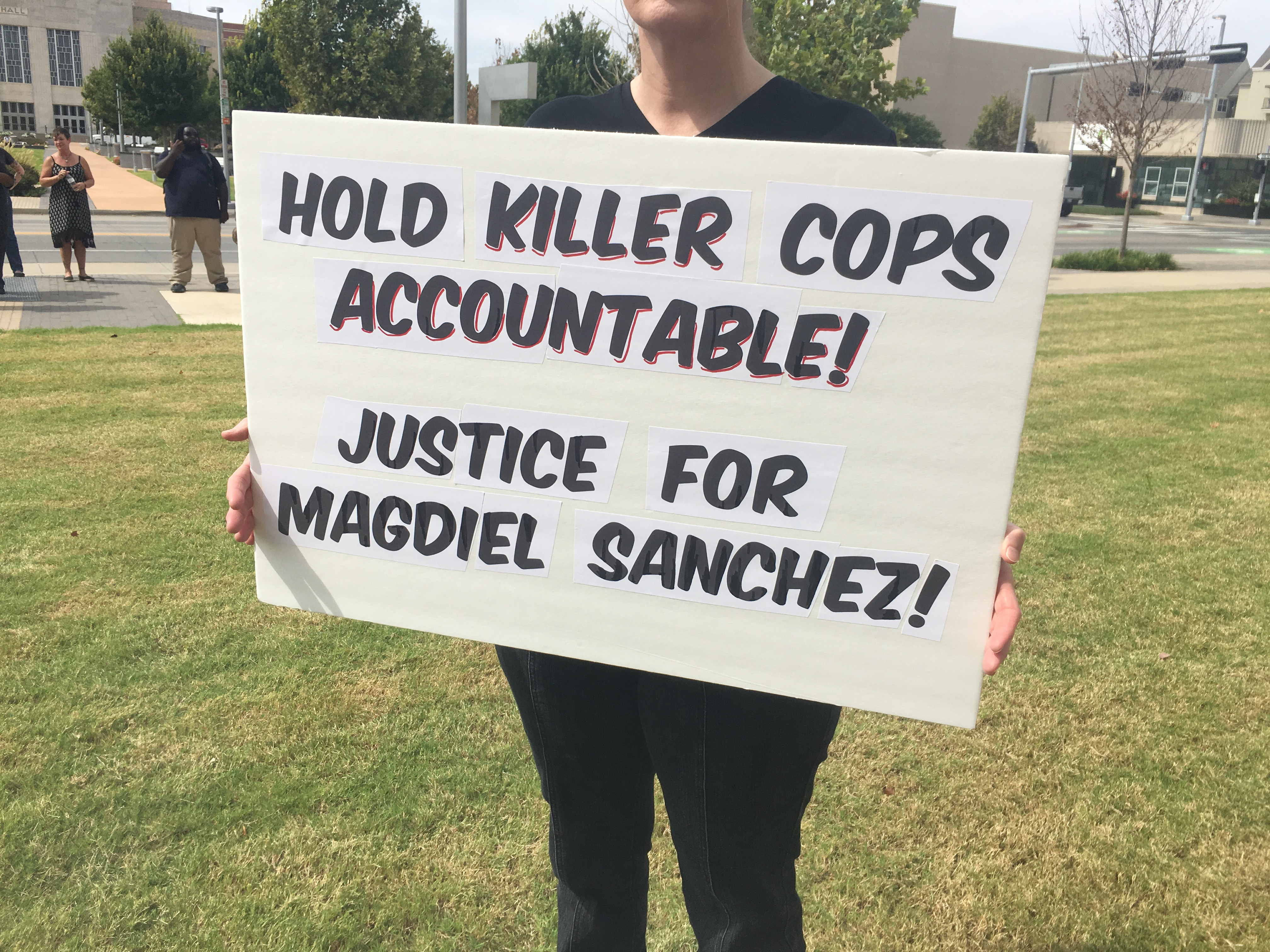 Justice Rally for Magdiel Sanchez