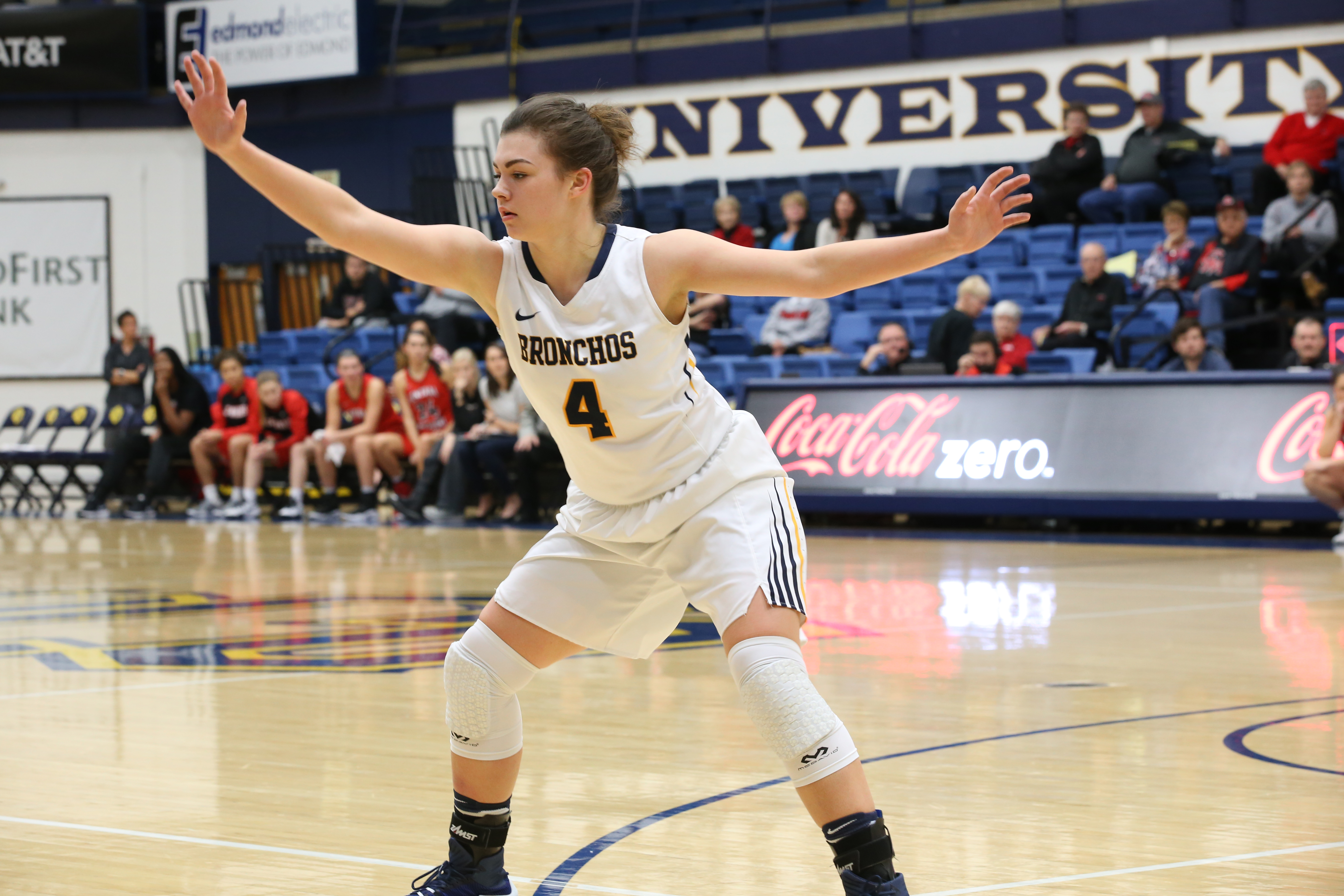 Women's Basketball: Bronchos Defeat Central Missouri, Gain 20th Win