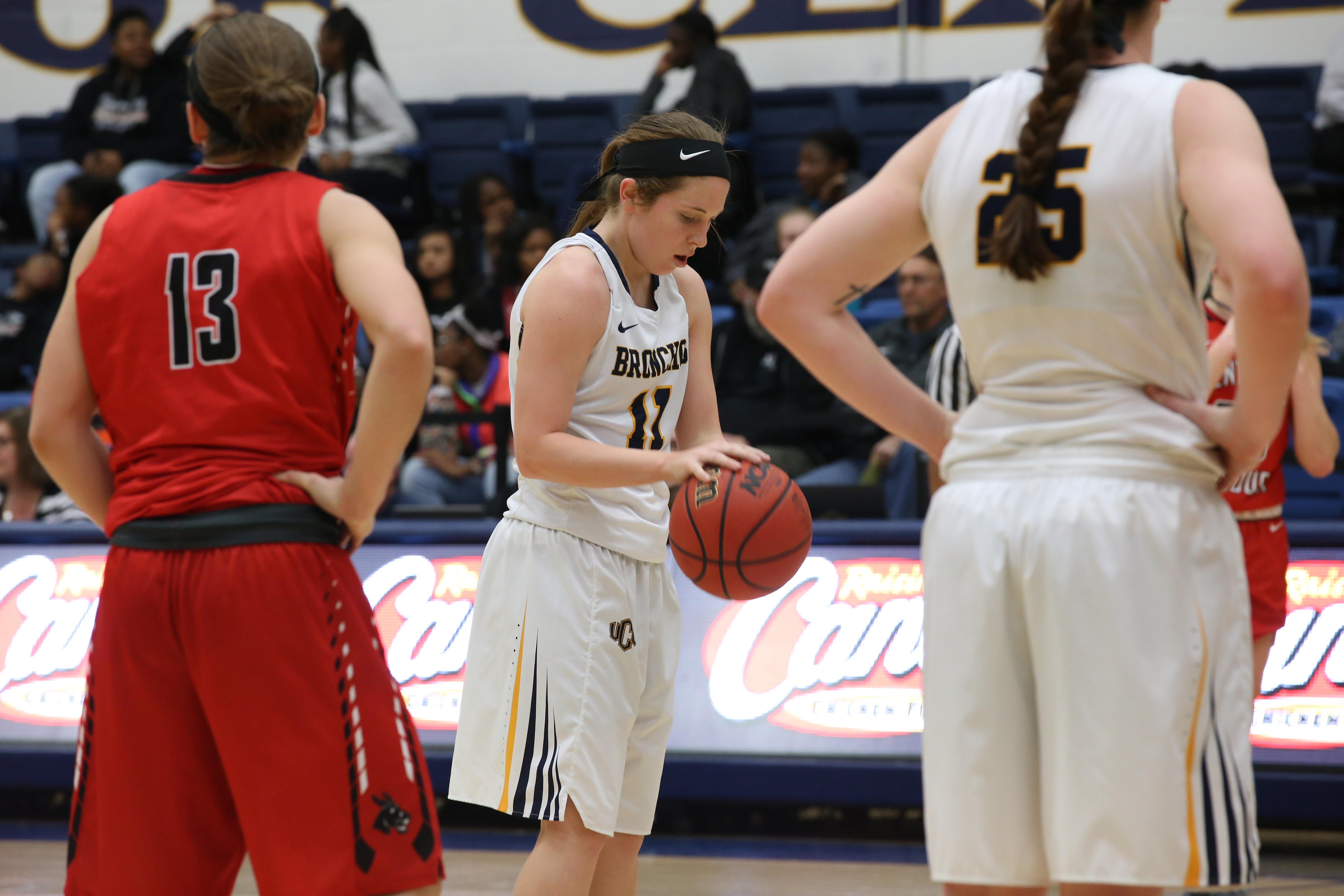 Women's Basketball: Bronchos Upset Against Southwest Baptist