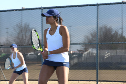 UCO Women's Tennis: Bronchos Get First Win of 2017