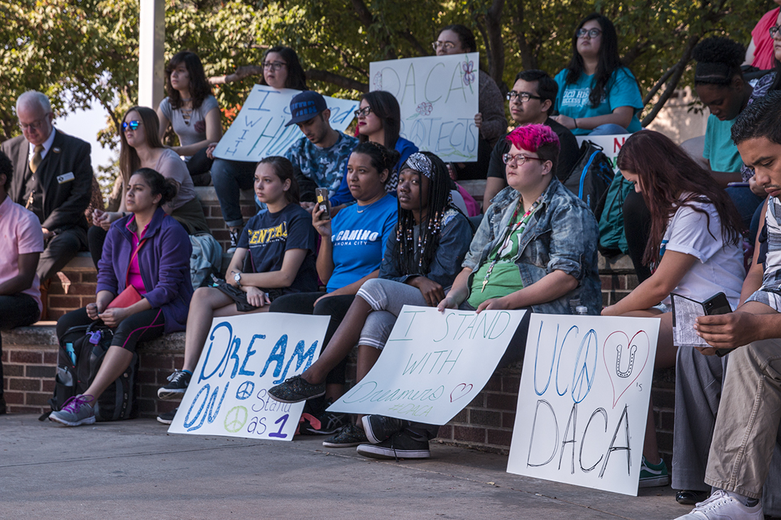 Bronchos Rally for DACA