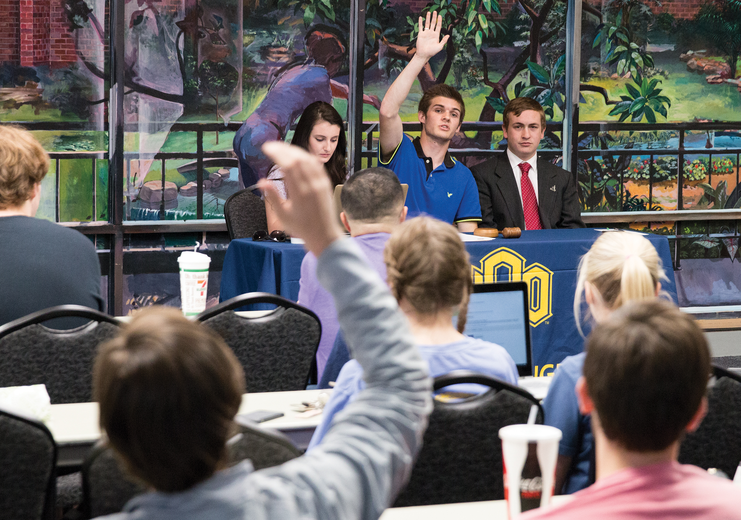 UCO Student Congress Continues to Break Open Meeting Act