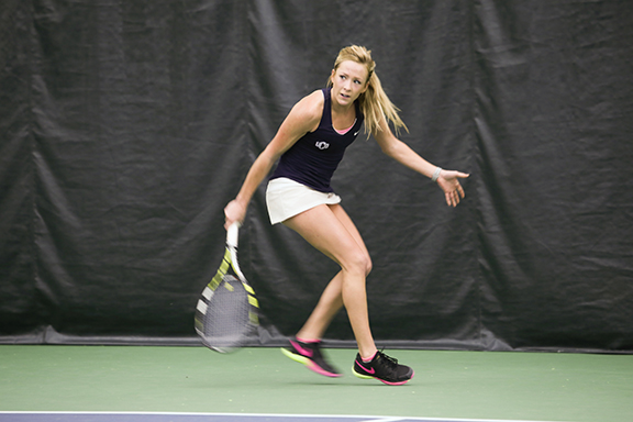 Alli Hodges Makes a Racket: UCO Tennis Heads for MIAA Conference Tournament