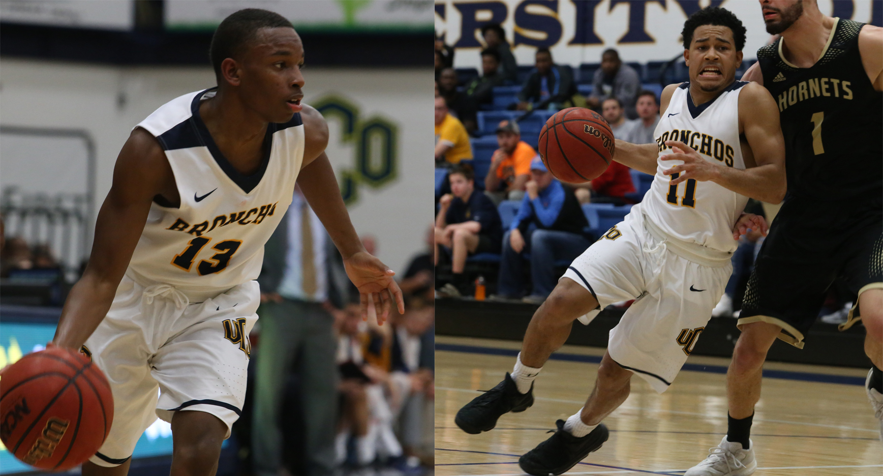 UCO Basketball's Outstanding Backcourt: Guards Josh Holliday and Marquis Johnson