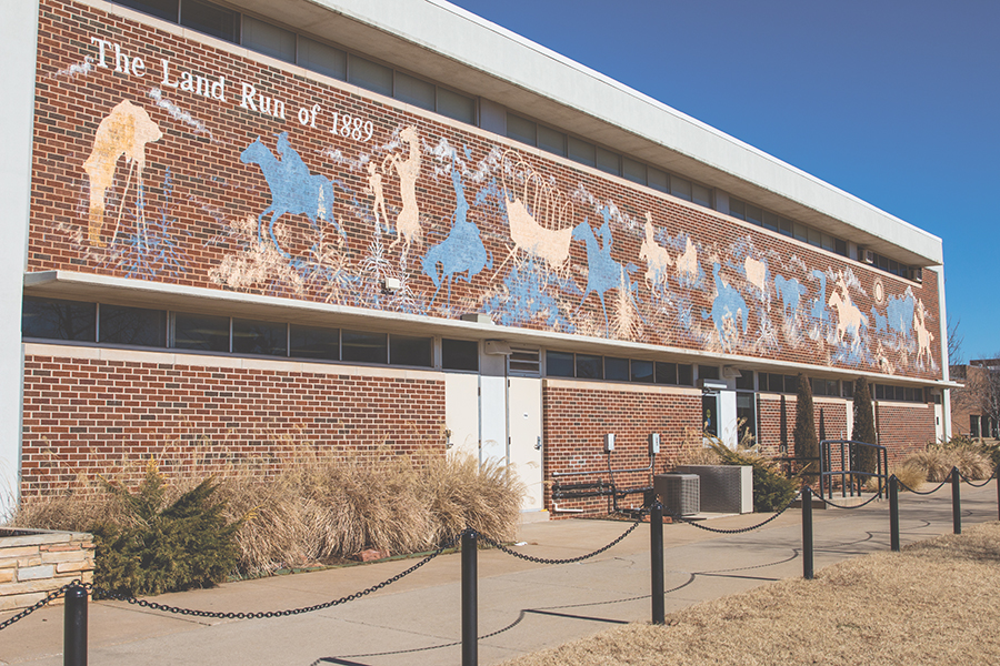 UCO Mural Runs Its Course