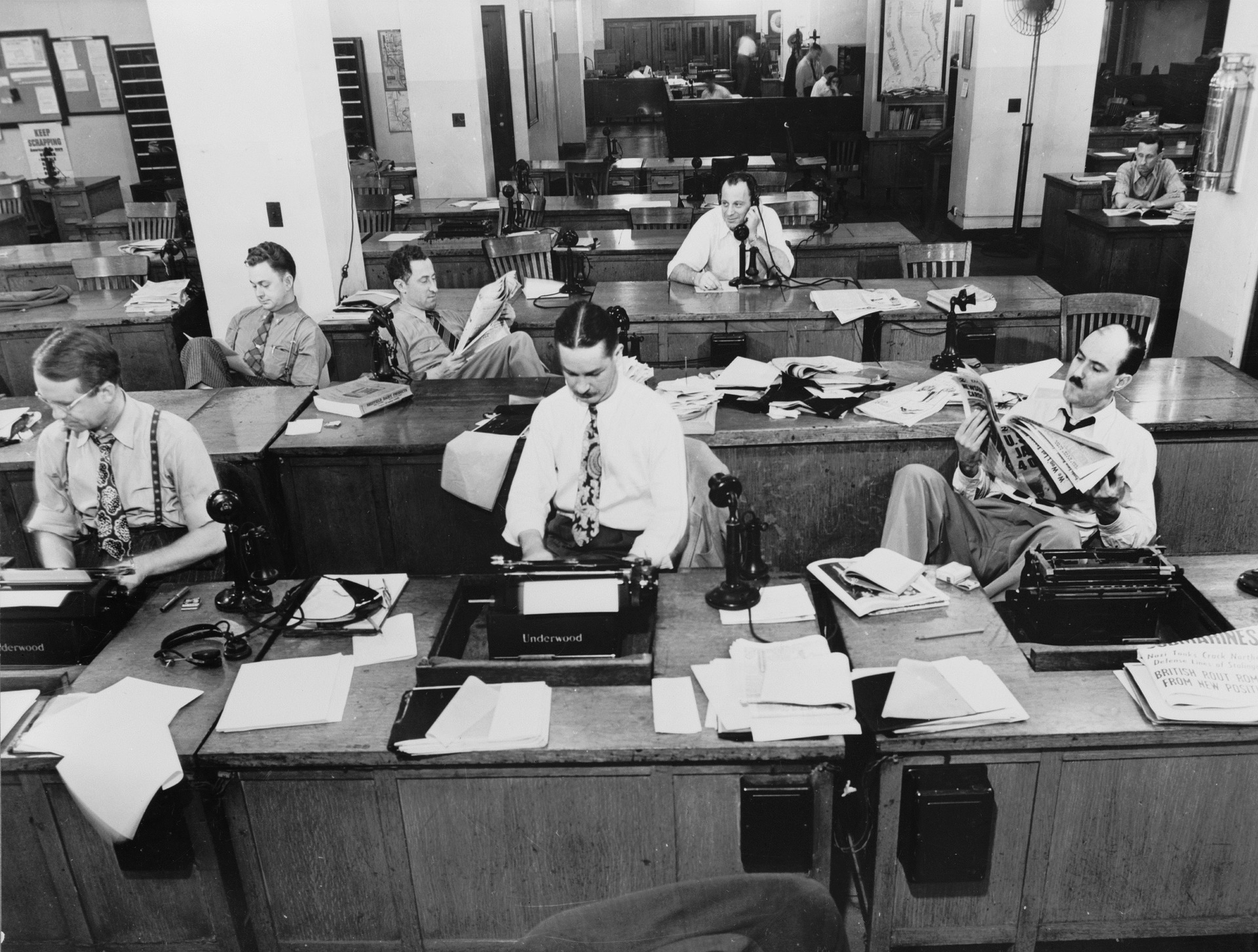 The Death of the Newsroom