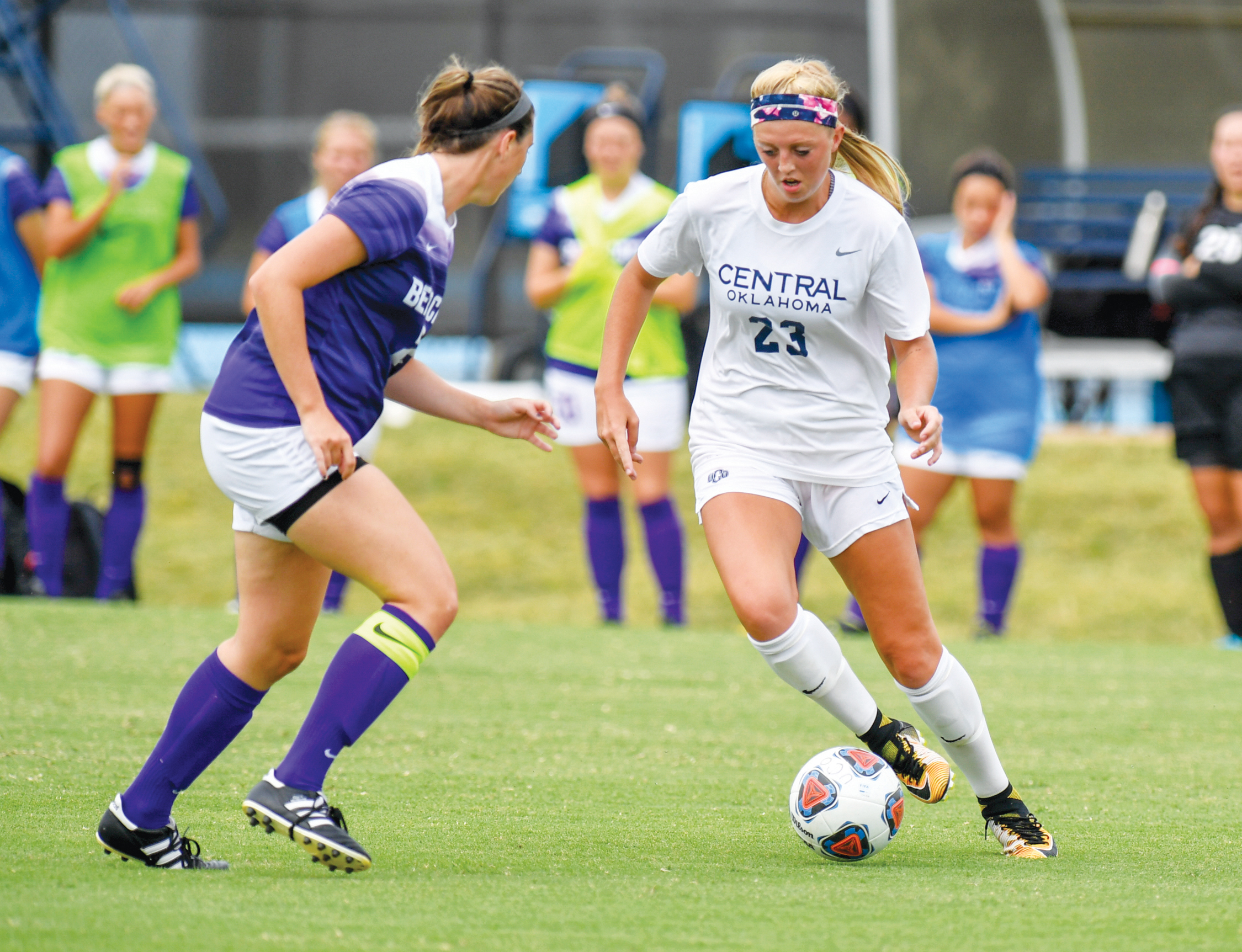 Broncho Soccer Gallops Past Weekend