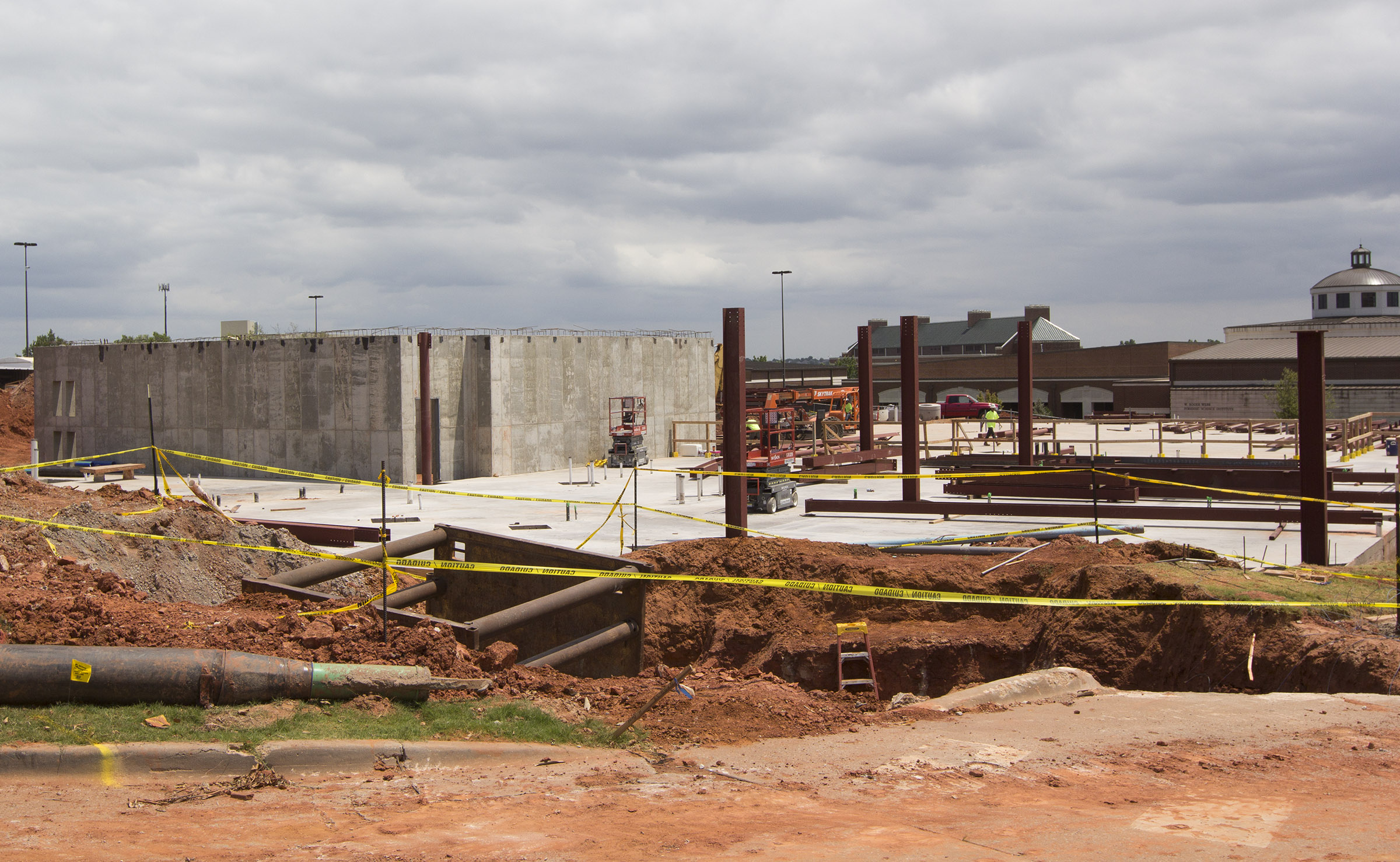 STEM Building Becoming New Gem on Campus